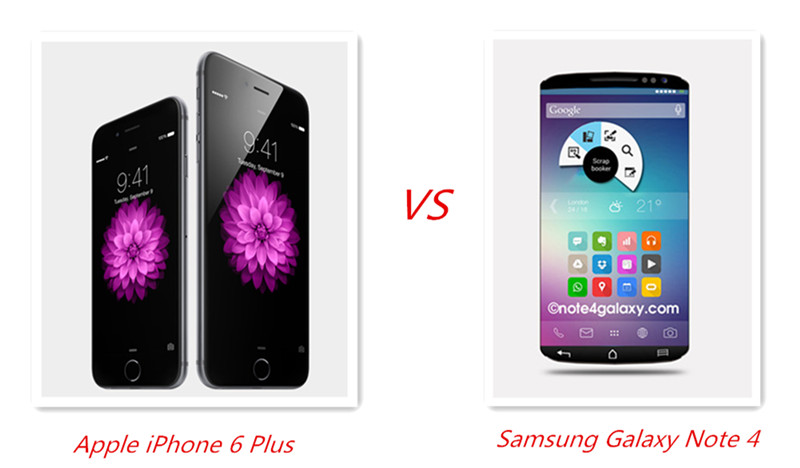 iPhone 6 Plus vs Samsung Galaxy Note 4 review