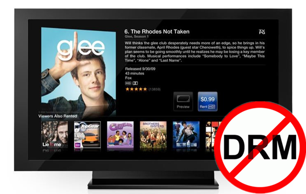remove DRM and stream iTunes rentals to Apple TV