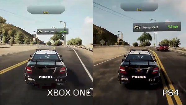 graphics of xbox one and ps4